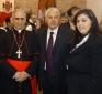 Anxhela con il Cardinale