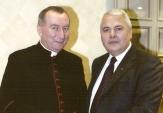 Con il Segretario di Stato la Sua Eminenza Reverendissima Pietro Parolin