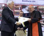 Con il Cardinal Vicario Agostino Vallini 2